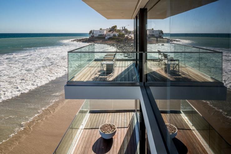 Maison d architecte de prestige malibu californie - La demeure moderne gb house par mmeb architects ...