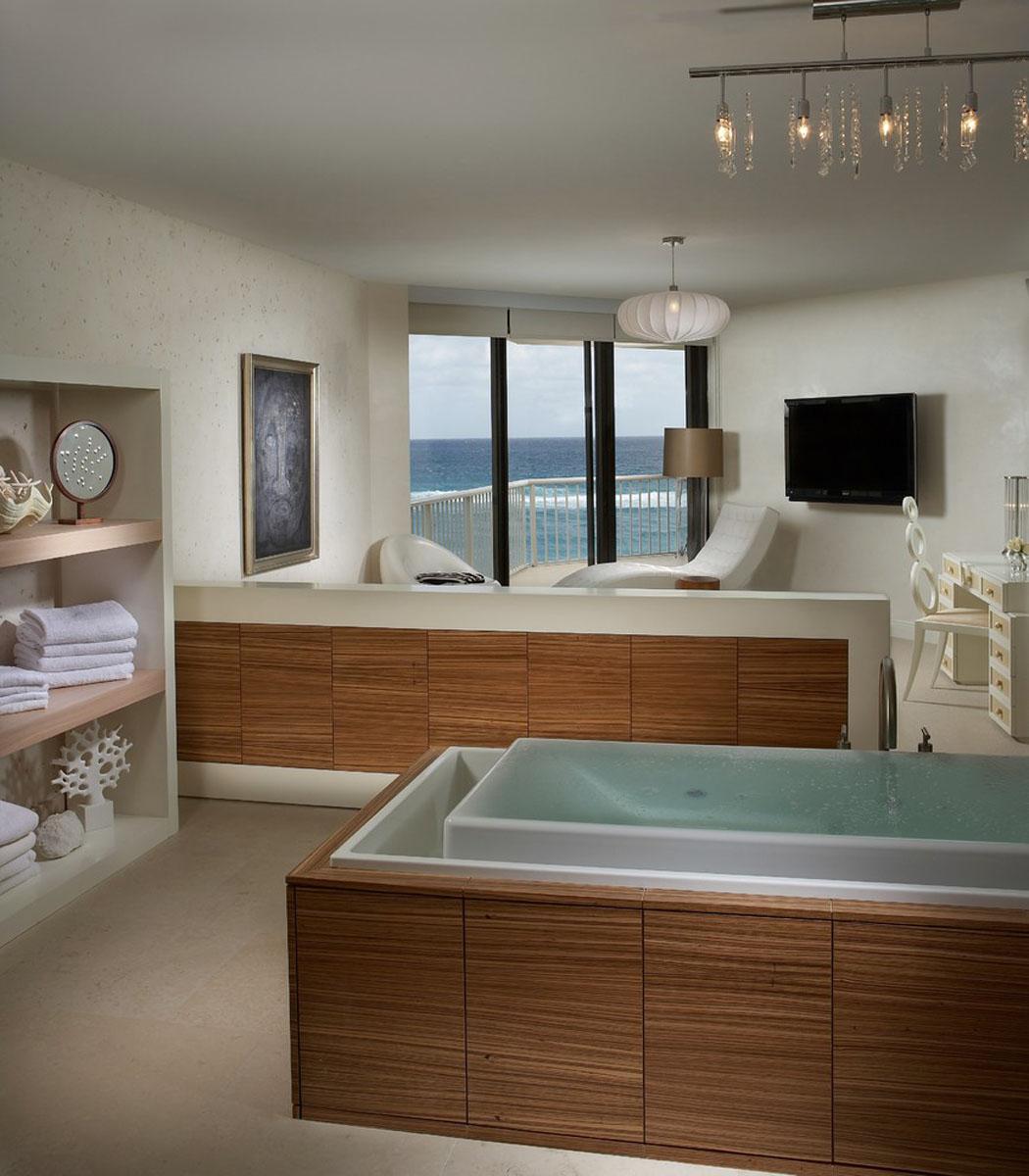 Magnifique intérieur au design élégant de cet appartement de ...