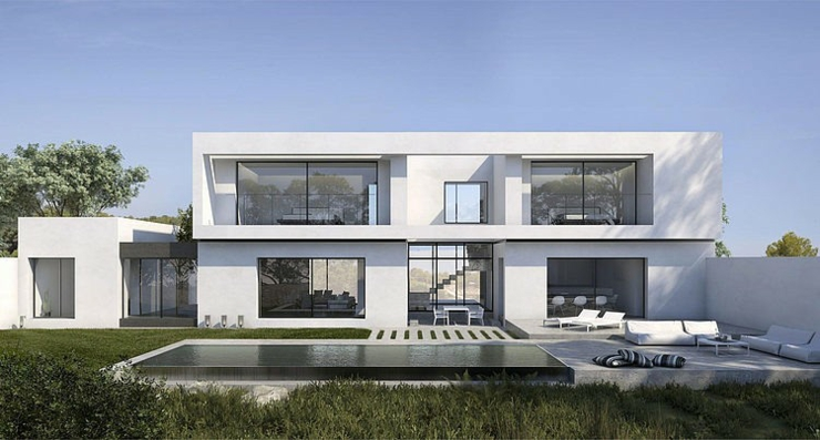 Maison d architecte sous le soleil du beau sud espagnole for Maison moderne architecte