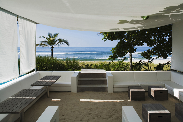 Maison de vacances l architecture contemporaine au - La contemporaine residence de plage las palmeras ...