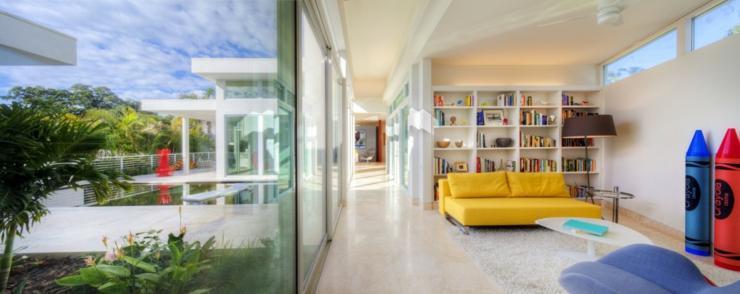Architecture contemporaine pour une résidence de luxe familiale ...
