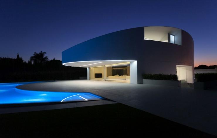 maison d architecte originale valence espagne vivons. Black Bedroom Furniture Sets. Home Design Ideas