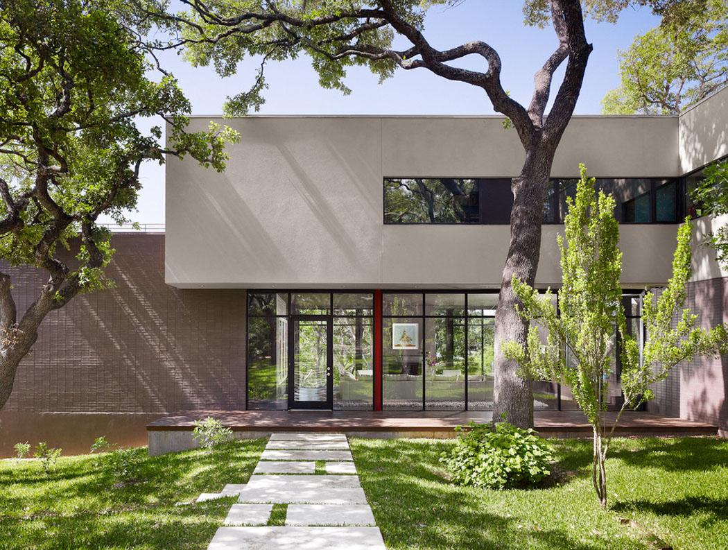 Belle maison r nov e au design moderne et d co contrast e - Magnifique maison renovee eclectique coloree sydney ...