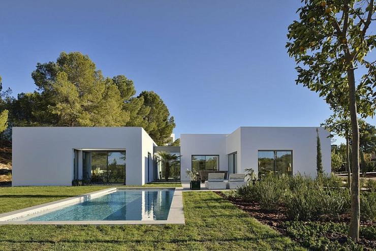 Maison d architecte sous le soleil du beau sud espagnole - Residence de vacances gedney architecte ...
