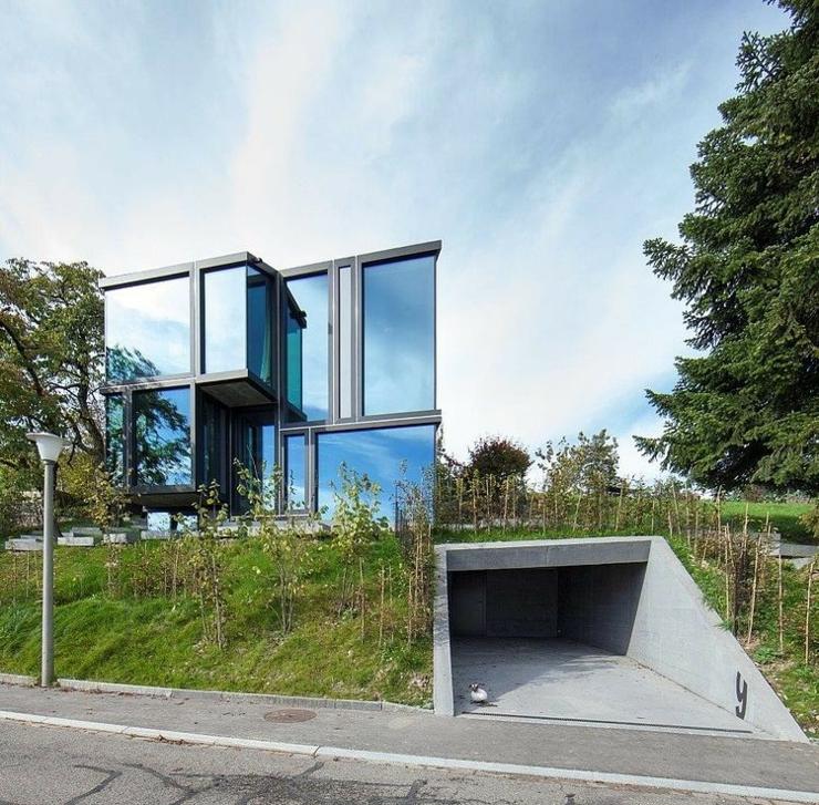Maison d architecte rig e au bord des vignobles vivons - Maison campagne suisse fovea architects ...