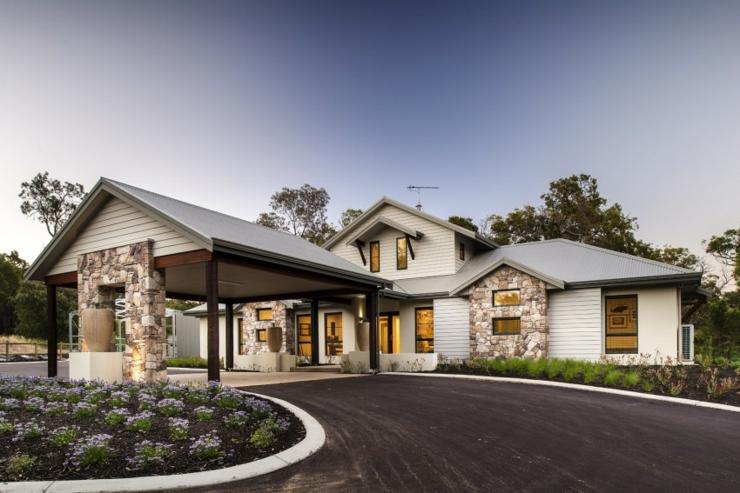 Agr able maison de vacances dunsborough australie - La contemporaine residence de plage las palmeras ...