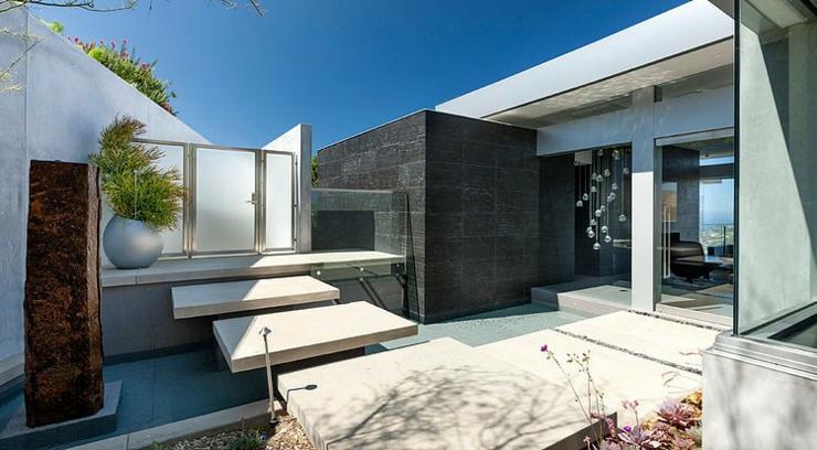 magnifique maison avec vue sur la laguna beach vivons maison With entree exterieur maison moderne 6 maison moderne avec une magnifique piscine interieure