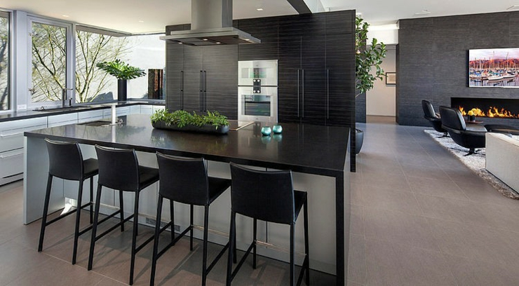 Beautiful Maison Avec Cuisine Ouverte Contemporary - Sledbralorne ...