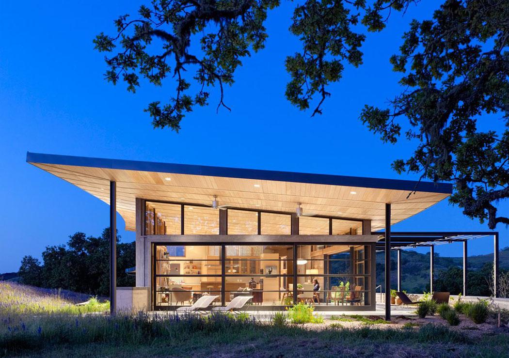 Une moderne maison passive l esprit clectique situ e - La maison wicklow hills par odos architects ...