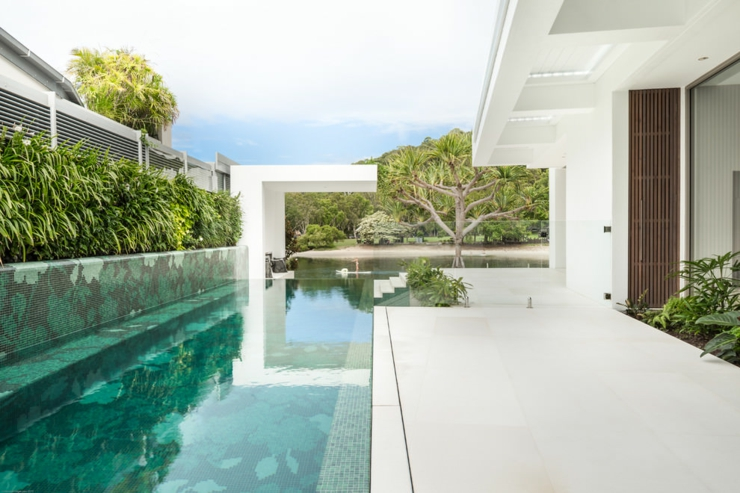L l gance et le style contemporain d une maison d - Maison architecte queensland tim ditchfield ...