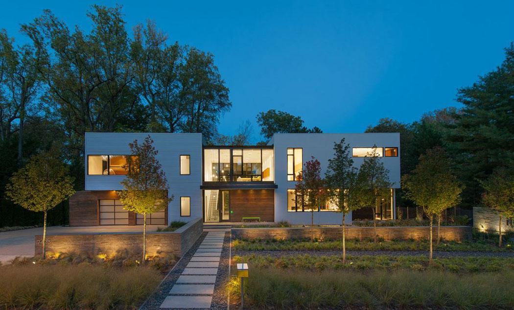 Assez Belle maison modulaire contemporaine à Washington DC | Vivons maison BK71