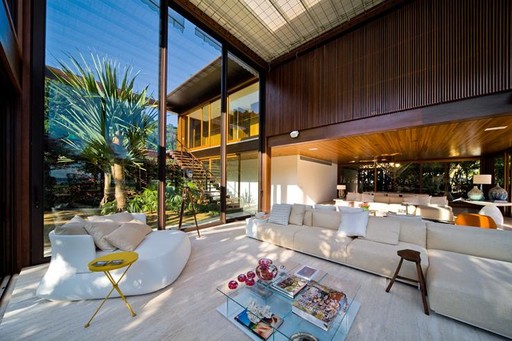 Belle maison contemporaine sur la c te br silienne - Maison contemporaine exotique fernanda marques ...