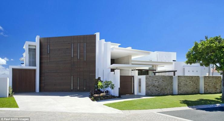 Magnifique maison d architecte en australie vivons maison for Les facades des villas modernes