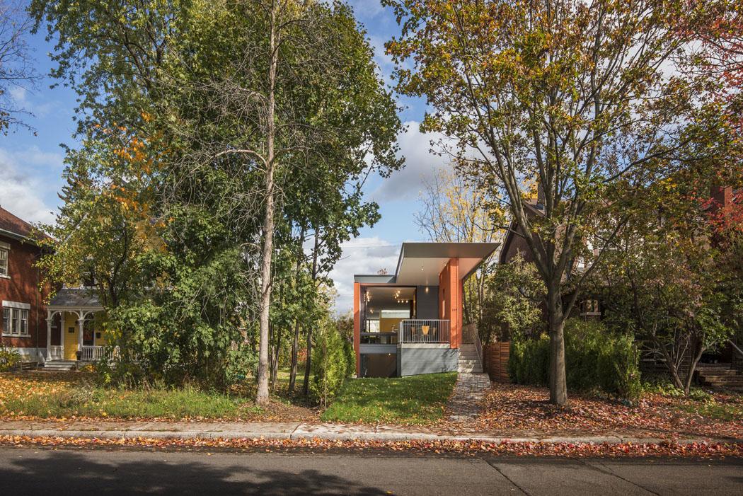 Maison individuelle l architecture adapt e aux for Agrandissement maison limite de propriete