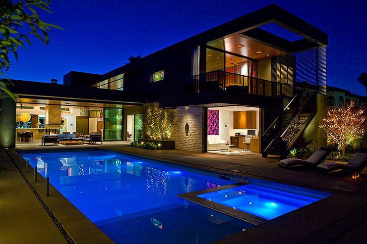 superbe maison d'architecte à los angeles | vivons maison