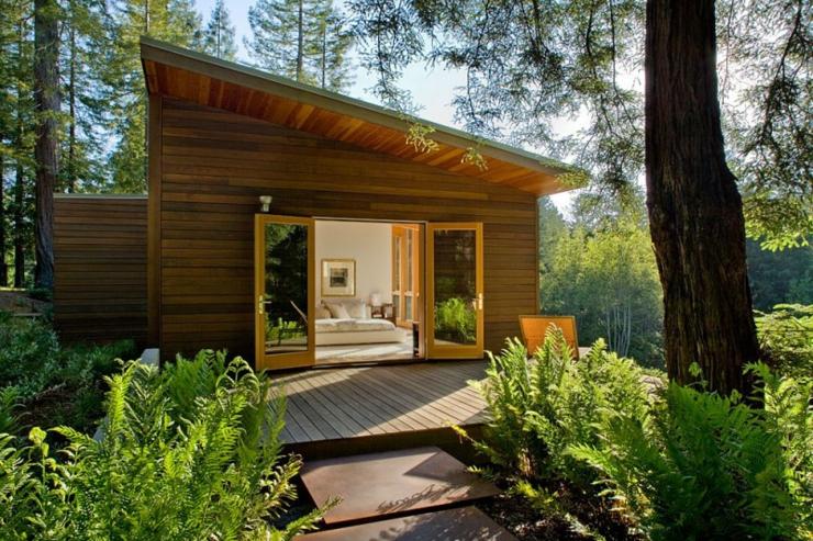 Maison En Bois Sebastopol Californie Vivons