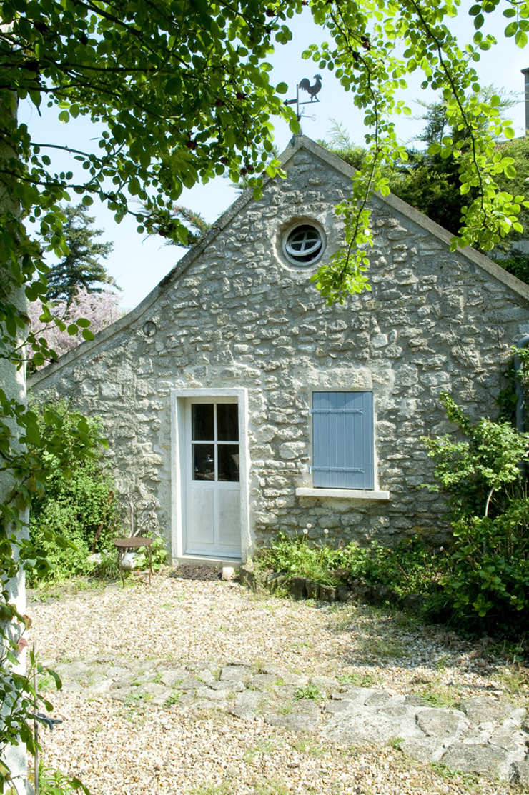 French country design exterior joy studio design gallery for Maison romantique