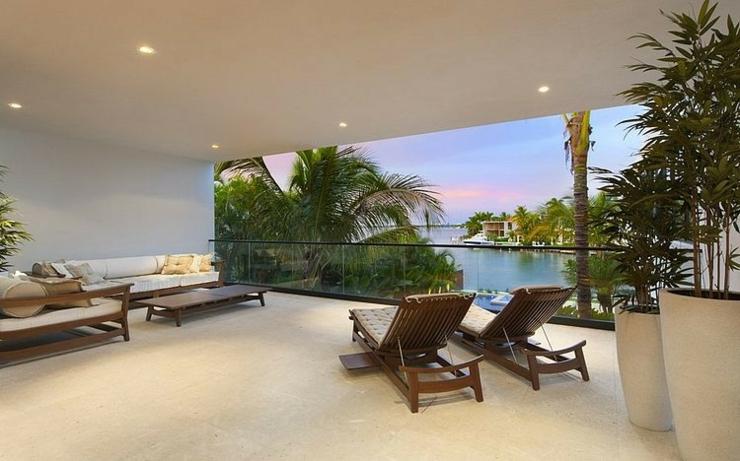 Maison de luxe miami beach floride vivons maison - Villa de luxe vacances miami j design ...