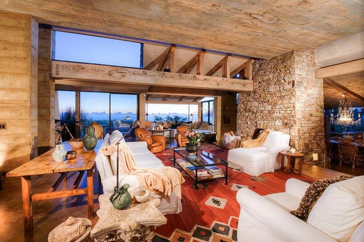 Interieur maison toscane - Maison rustique luxe montecito grant ...
