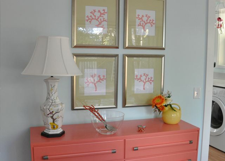 Coral cottage ou la maison de plain pied style retro for Decoration maison plain pied