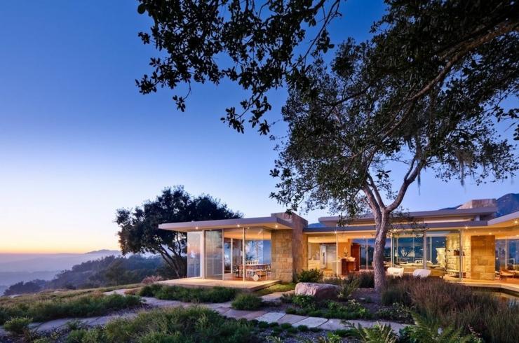 Maison Plain Pied Carpinteria Neumann on Toro Canyon Santa Barbara