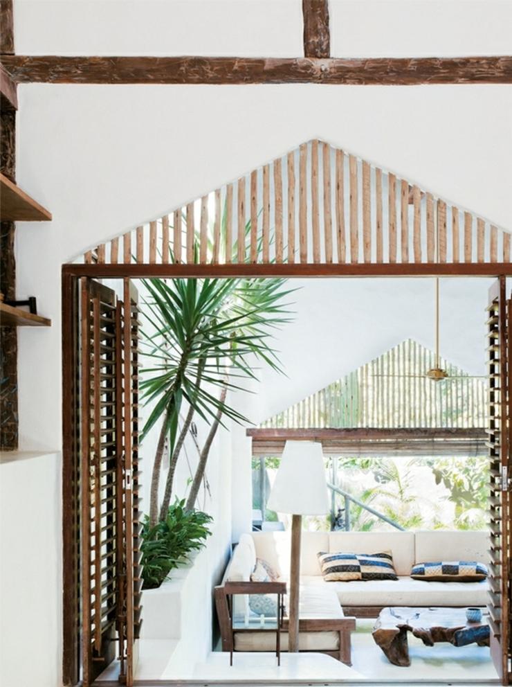 maison de vacances au br sil l int rieur minimaliste vivons maison. Black Bedroom Furniture Sets. Home Design Ideas