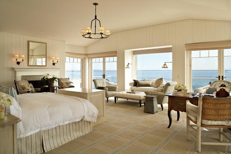 Maison de vacances sur la c te californienne vivons maison for Deco chambre de luxe