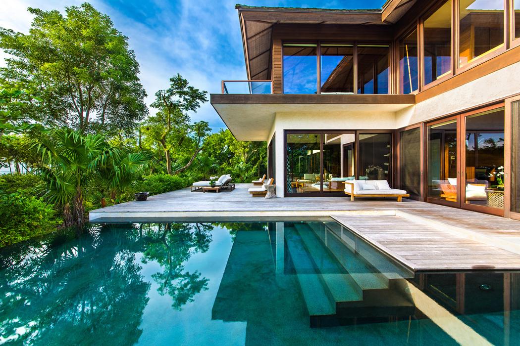 Maison avec piscine a debordement avie home - Maison de vacances iles turques worth ...