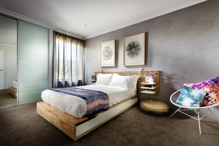 Concept unique d une maison verte et ensoleill e vivons for Chambre design verte