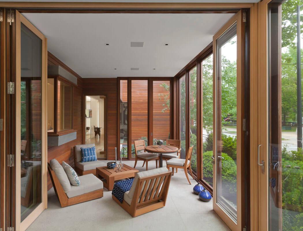 Maison En Bois A L Inspiration Ecologique A Chicago Vivons Maison