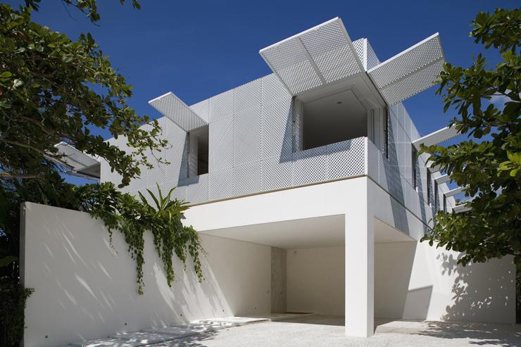 Maison de vacances l architecture contemporaine au - Residence de vacances gedney architecte ...