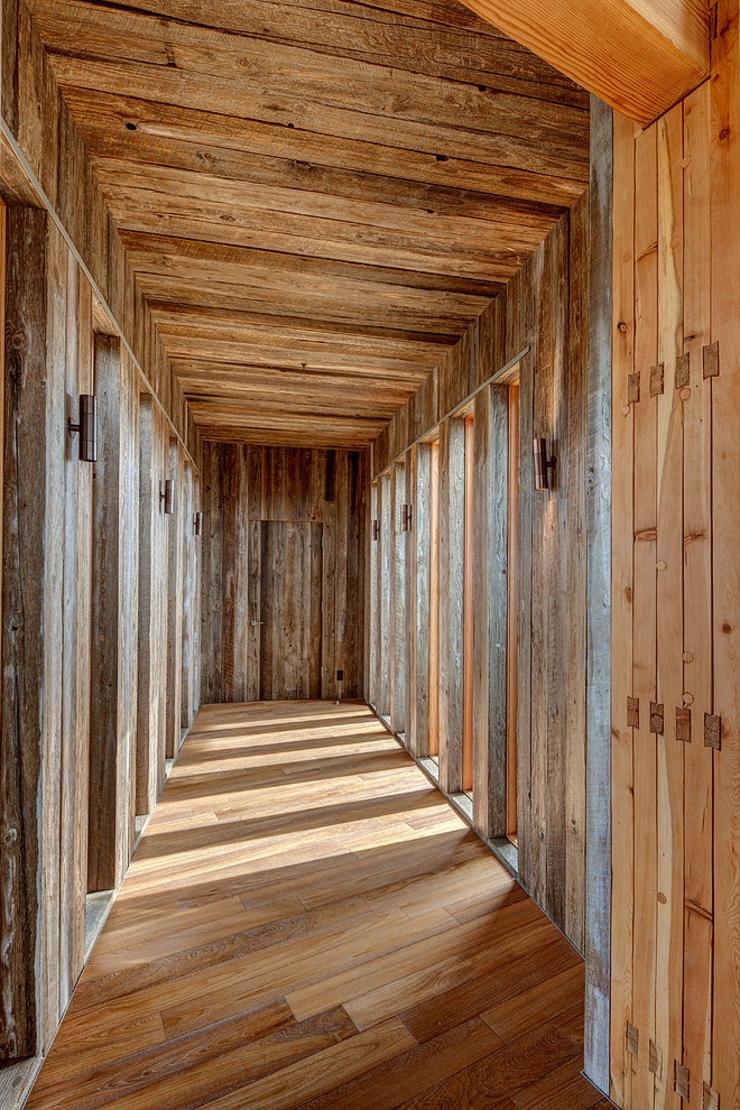 Maison en bois au c ur de la for t hant e vivons maison - Appartement luxe mexicain au plancher bien original ...