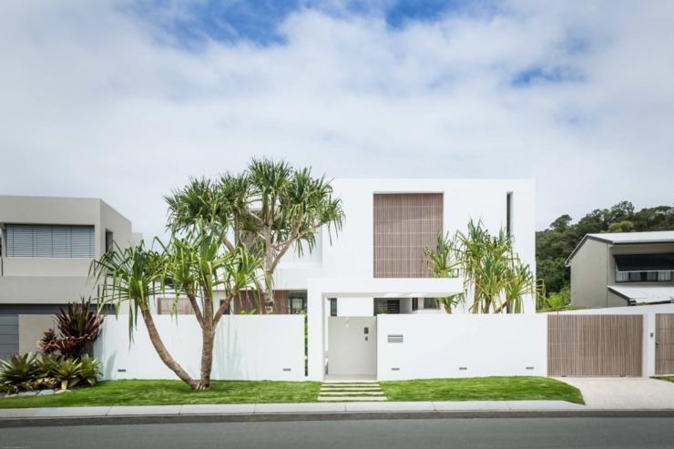 L l gance et le style contemporain d une maison d - Architecture contemporaine residence parks ...