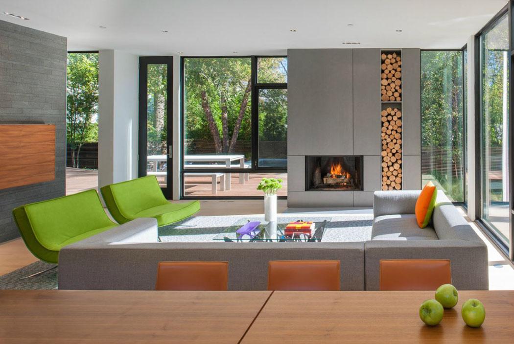 Belle maison modulaire contemporaine washington dc for Maison modulaire design