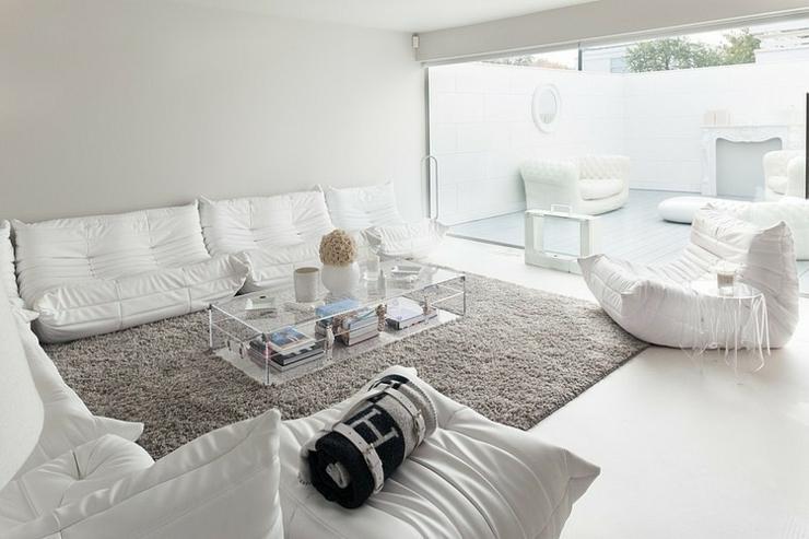 Petite Chambre Froide Prix : Maison de ville à l'aménagement intérieur en blanc  Vivons