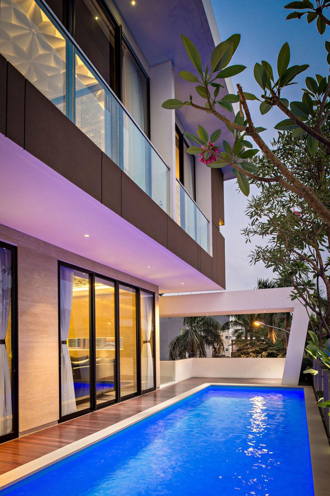 Maison moderne l architecture contemporaine au c ur de - Maison contemporaine de grand standing singapour ...