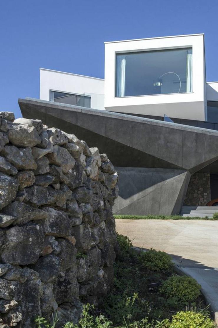 Maison originale l architecture d cal e en croatie - Residence de vacances gedney architecte ...