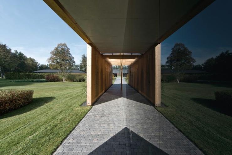 Maison Plain Pied Avec Dressing : Maison plain pied à l architecture contemporaine vilnius
