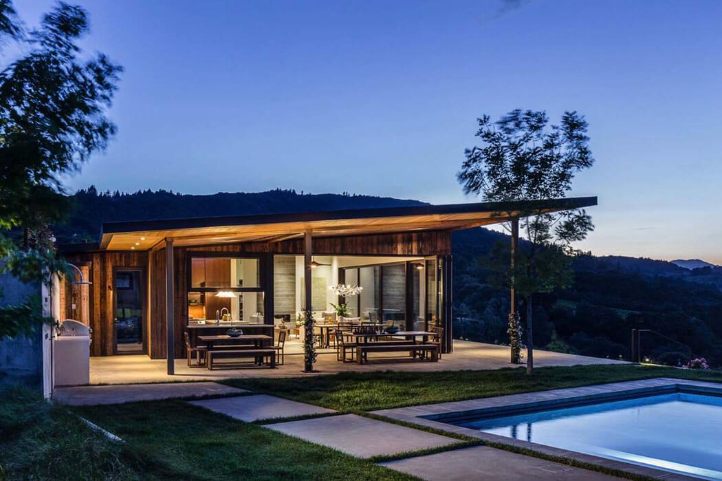 Vivre au c ur des vignobles maison secondaire moderne et - Maison secondaire cotiere avec vue katch ...