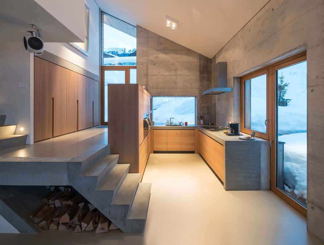 Un Minimaliste Et Eclectique Design Interieur Pour Ce Chalet De