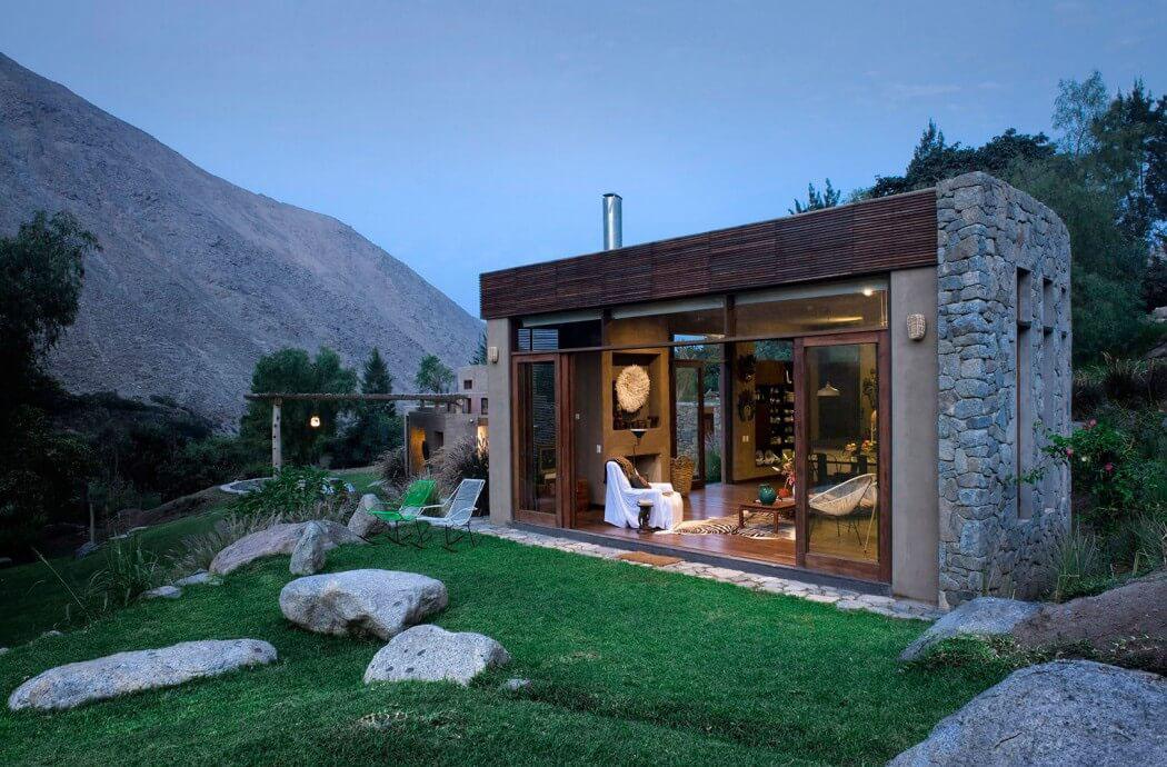 maison rustique de luxe situ e au c ur de la nature p ruvienne vivons maison. Black Bedroom Furniture Sets. Home Design Ideas