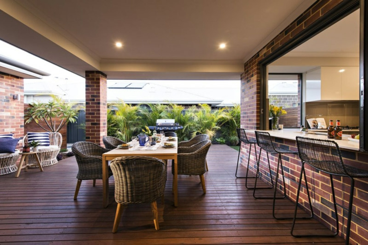 Concept unique d une maison verte et ensoleill e vivons - Magnifique maison renovee eclectique coloree sydney ...