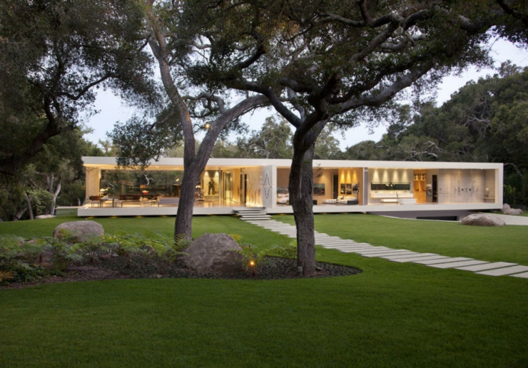 R sidence de luxe montecito santa barbara vivons maison - La demeure moderne gb house par mmeb architects ...