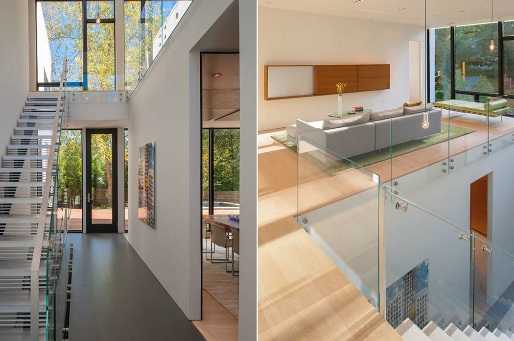 Maison Mezzanine : Belle maison modulaire contemporaine à washington dc