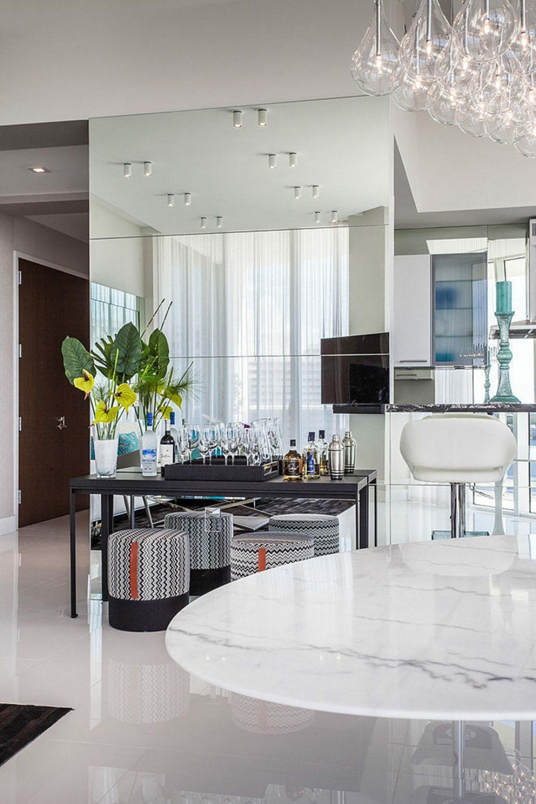 Miroir Salle De Sejour décoration design inspirée par les vacances et l'exotisme de