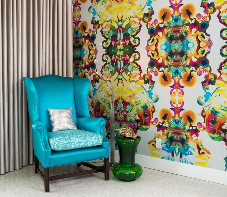 Maison à l'intérieur éclectique et joyeux en Floride  Vivons ...