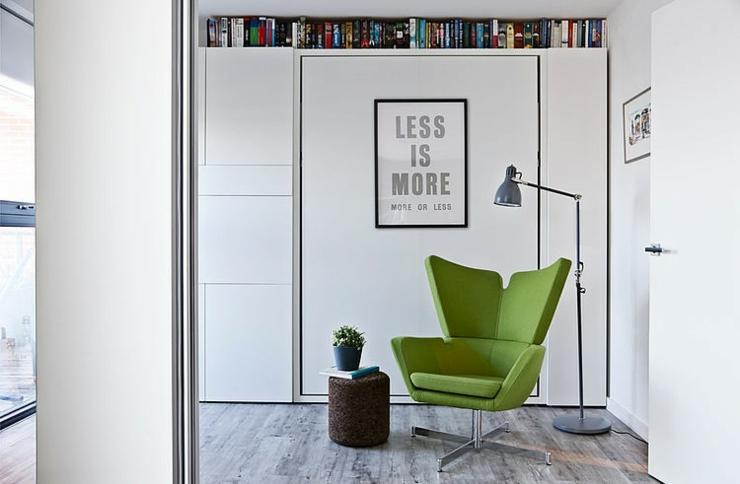 Bel appartement luxueux situ londres vivons maison Fauteuil lecture design