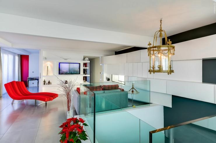 Appartement de luxe avec une vue imprenable sur paris - Deco maison appartement en duplex widawscy ...