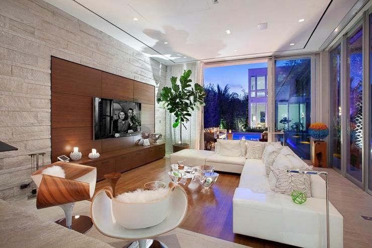villa de r ve avec magnifique vue sur la mer en floride. Black Bedroom Furniture Sets. Home Design Ideas