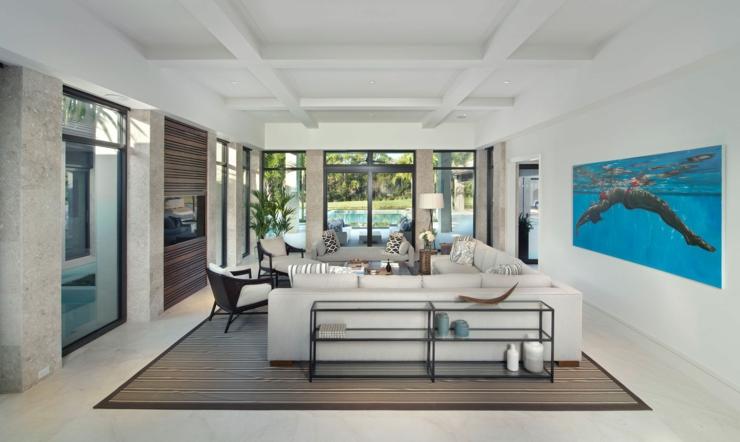 prestigieuse maison de vacances en floride vivons maison. Black Bedroom Furniture Sets. Home Design Ideas